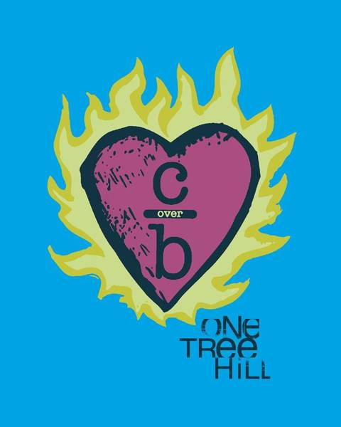 Raven Digital Art - One Tree Hill - C Over B 2 by Brand A