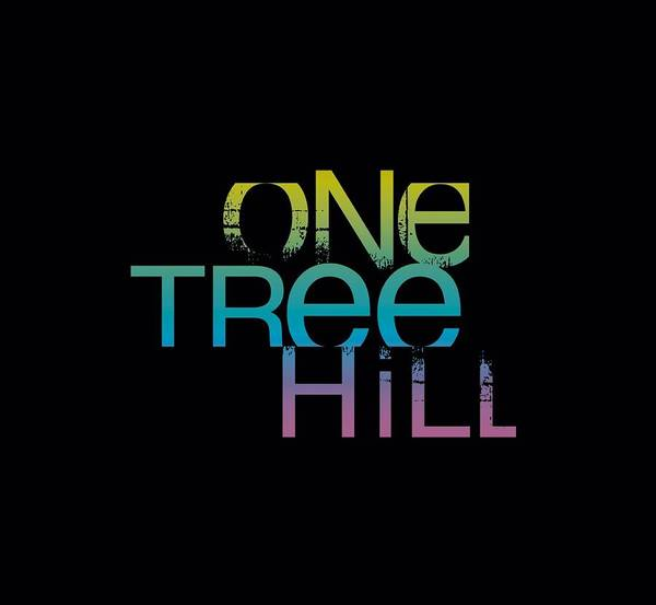 Wall Art - Digital Art - One Tree Hill - Color Blend Logo by Brand A