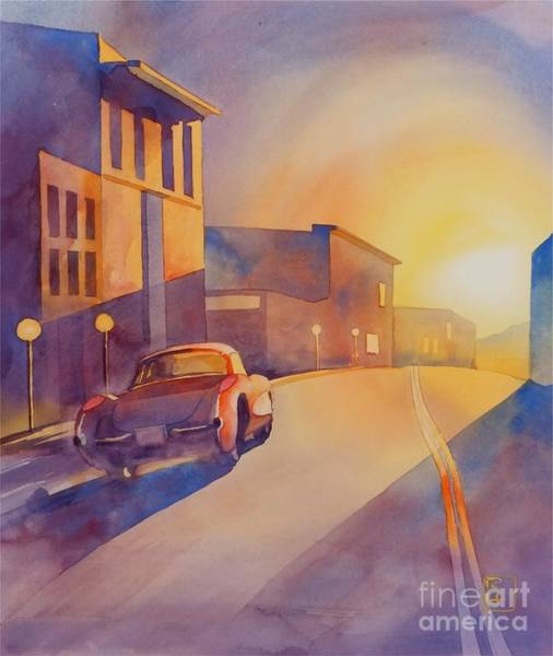 Wall Art - Painting - One Way by Robert Hooper