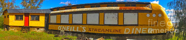 Photograph - Oneills Streamline Diner - 04 by Gregory Dyer