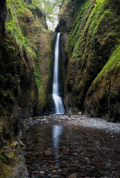 Photograph - Oneonta Falls by Brian Bonham