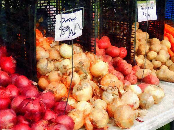 Photograph - Onions And Potatoes by Susan Savad