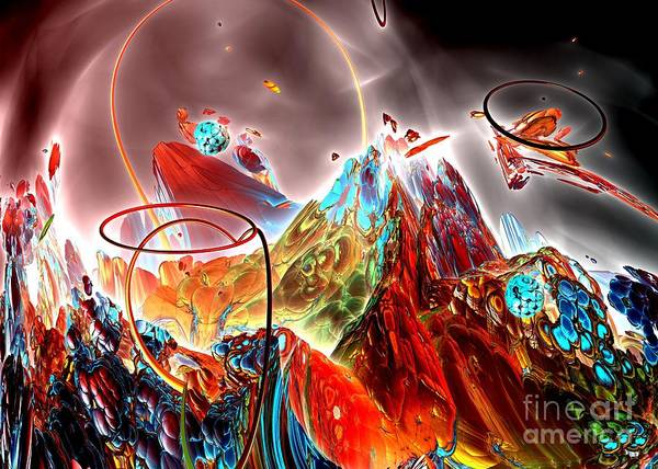 Digital Art - Oniric - 1 by Bernard MICHEL