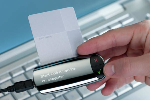 Security Service Photograph - Online Banking Key by Ibm Research