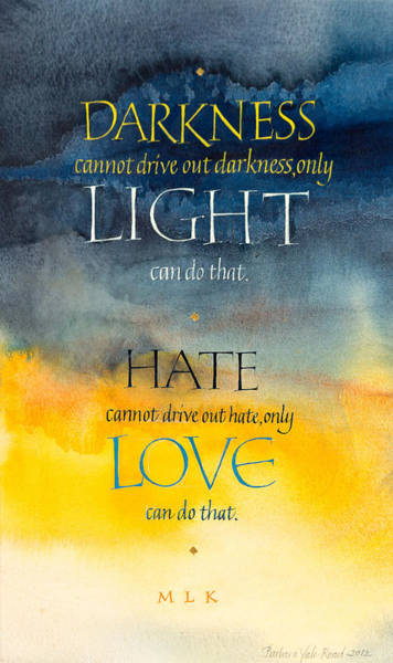 Lights Mixed Media - Only Love by Barbara Yale-Read