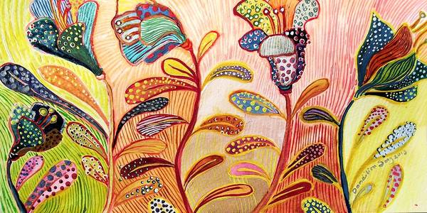 Dandilions Painting - Only This by Dandilion Song