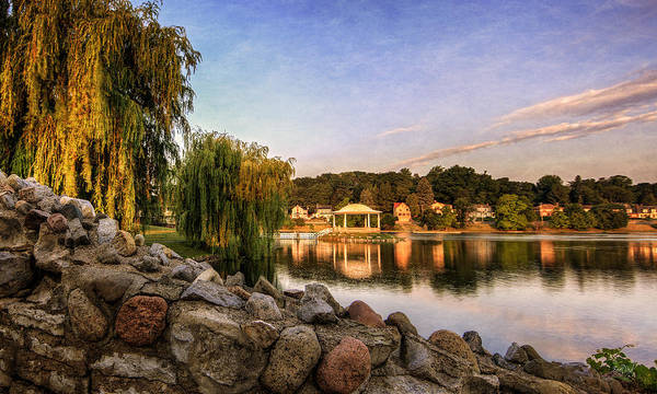 Onondaga Photograph - Onondaga Park Hiawatha Lake by Everet Regal