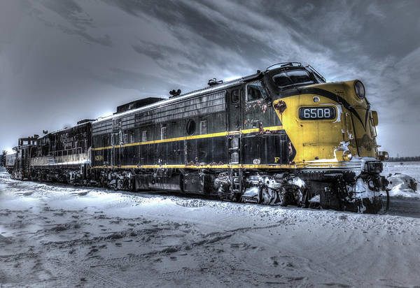 Photograph - Ontario Southland Railways by Nick Mares