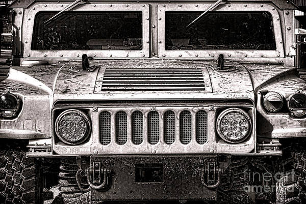 Wall Art - Photograph - Oomphy Humvee by Olivier Le Queinec
