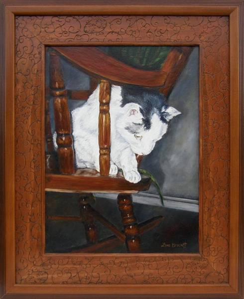 Painting - Oops Framed by Lori Brackett