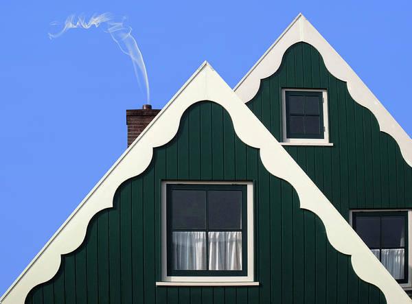 Smoke Wall Art - Photograph - Oostzaan by Alida Van Zaane
