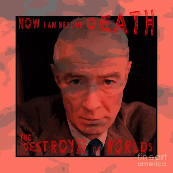 Atomic Weapons Digital Art - Op Death Quote by Megan Dirsa-DuBois