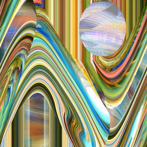 Digital Art - Opal by rd Erickson