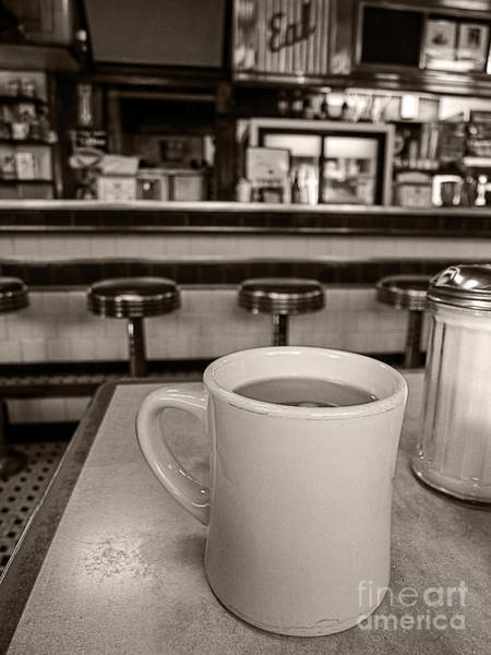 Diner Wall Art - Photograph - Open All Night by Edward Fielding