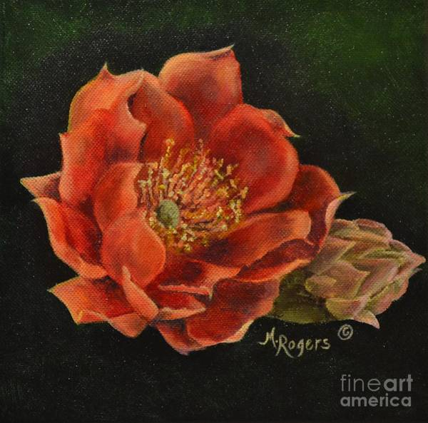 Mary Rogers Painting - Open Bloom by Mary Rogers