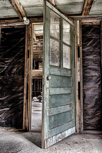 Old Door Photograph - Open Door by Caitlyn  Grasso