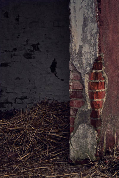 Crumble Photograph - Open Door by Odd Jeppesen