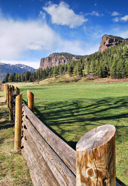 Fence Post Wall Art - Photograph - Open Fences by Gregory Ballos
