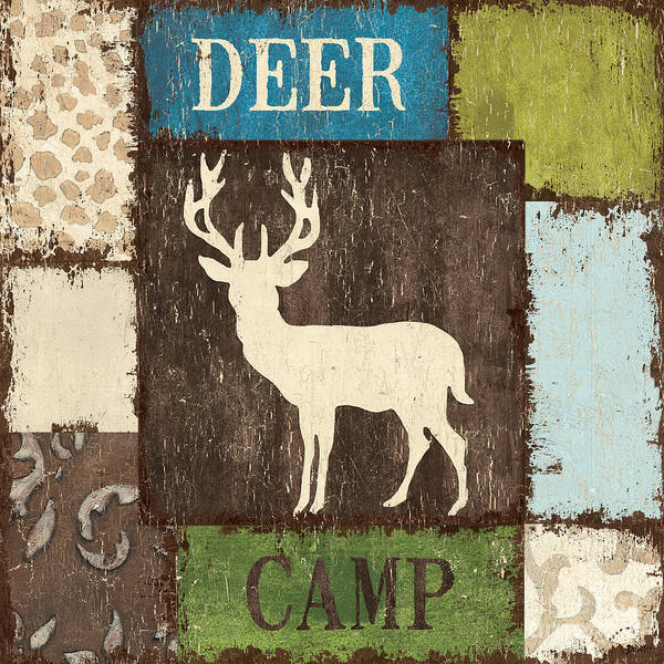 Camp Wall Art - Painting - Open Season 2 by Debbie DeWitt