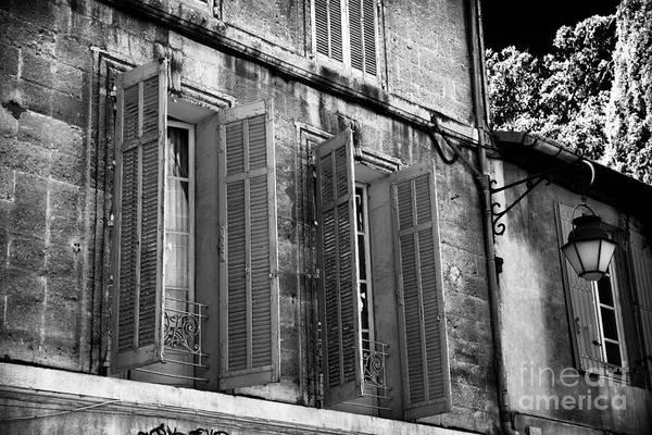 Photograph - Open Shutters In Avignon by John Rizzuto