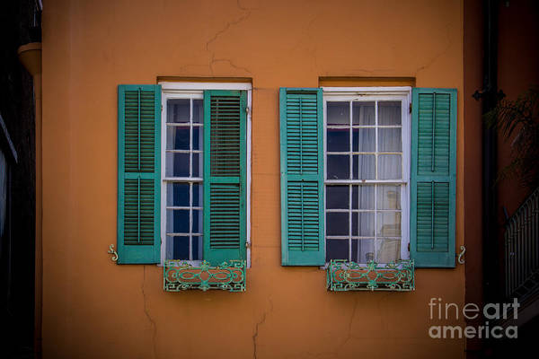 Wall Art - Photograph - Open Shutters by Perry Webster