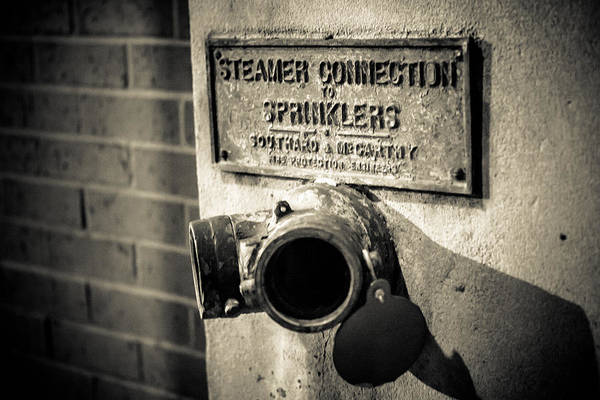 Photograph - Open Sprinkler by Melinda Ledsome