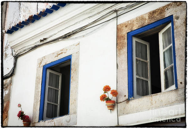 Photograph - Open Windows In Cascais by John Rizzuto