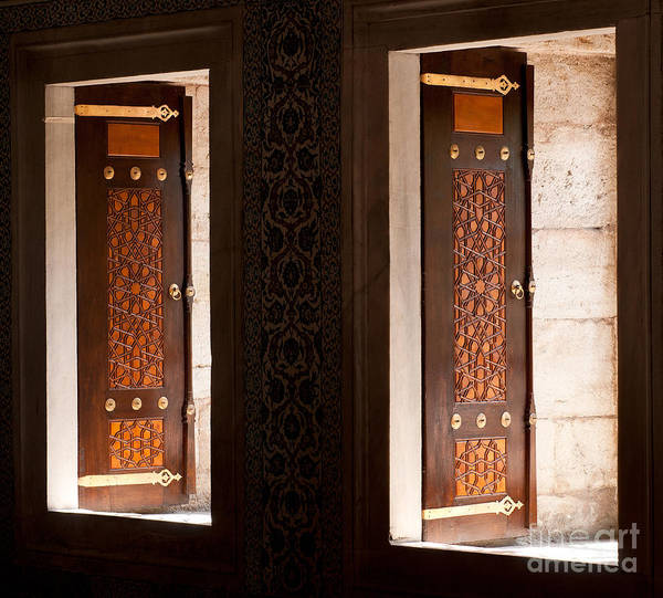 Sancta Sophia Photograph - Open Windows by Rick Piper Photography