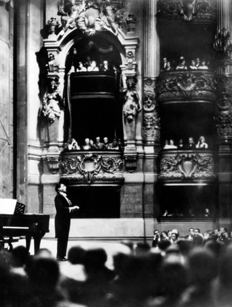 Photograph - Opera Star Tito Schipa by Underwood Archives