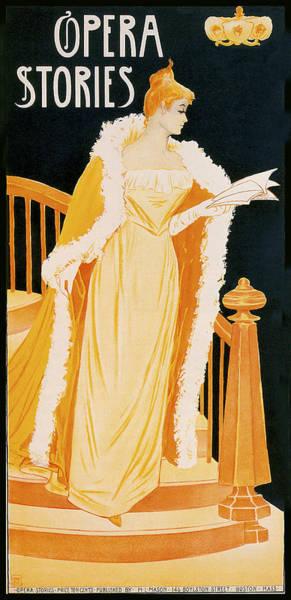 Photograph - Opera Stories 1896 by Irene Weir