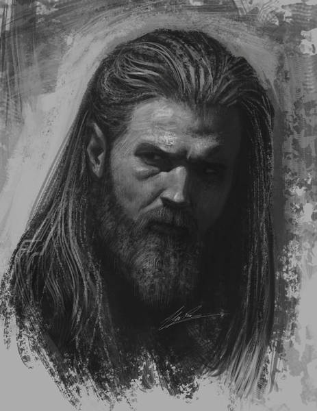 Son Digital Art - Opie by Alex Ruiz