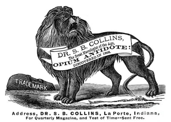 Collin Photograph - Opium Antidote, 1876 by Granger