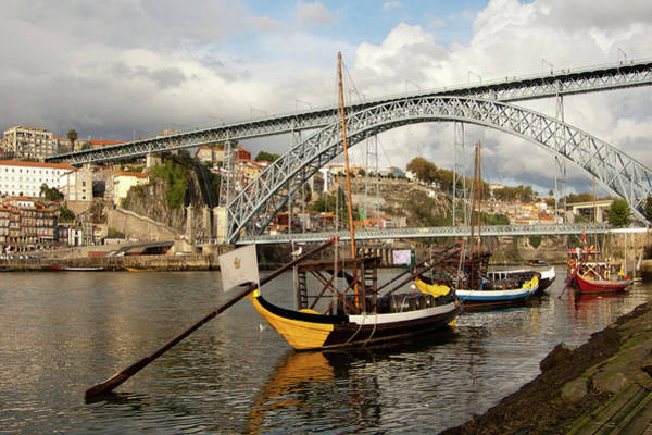 Douro Wall Art - Photograph - Oporto by Get My Work Via Gettyimages