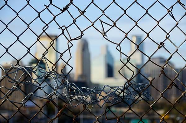 Chain Link Photograph - Opportunity by Jim Hughes