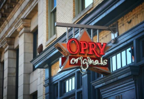 Wall Art - Photograph - Opry Originals On Broadway by Dan Sproul