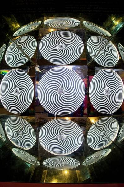 Demonstration Photograph - Optical Illusion by Mark Williamson