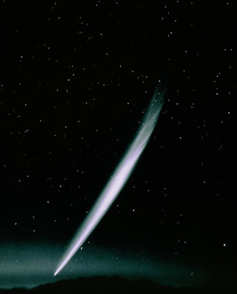 Wall Art - Photograph - Optical Photo Of Comet Ikeya-seki by Noao/science Photo Library