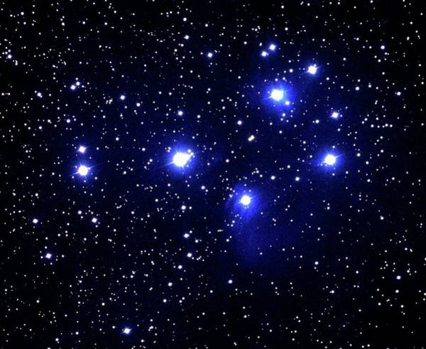 Wall Art - Photograph - Optical Photo Of The Pleiades Star Cluster by Noao/science Photo Library