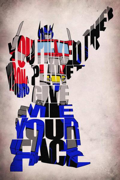 Digital Art - Optimus Prime by Inspirowl Design