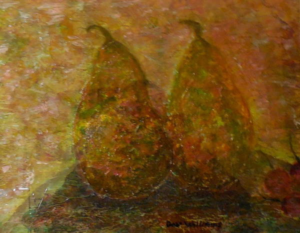 Don Williams Painting - Opulent Pears by Don Williams