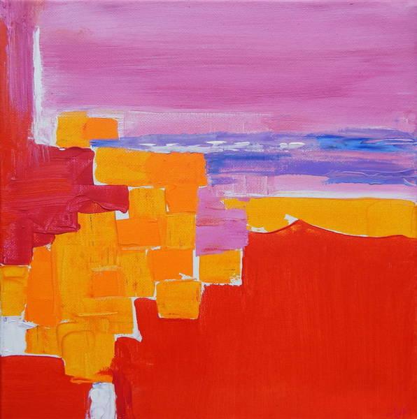Dominate Painting - Sea Side Impression by Expressionistart studio Priscilla Batzell