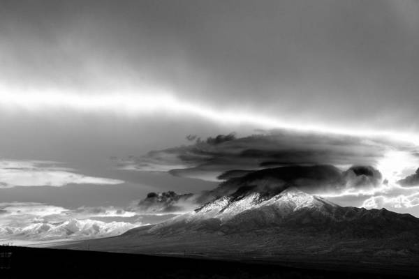Photograph - Oquirrh Range Utah by Ron White