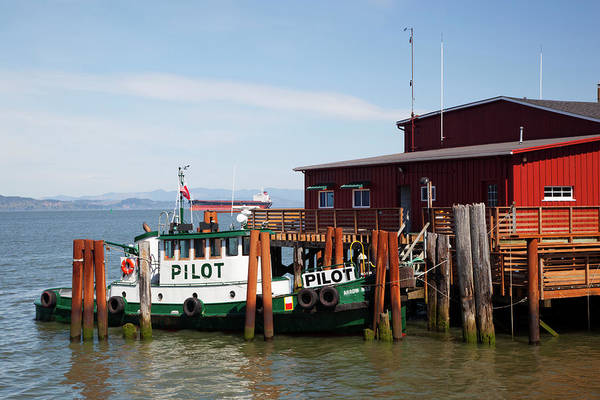 Astoria Photograph - Or, Astoria, Columbia River, River by Jamie and Judy Wild