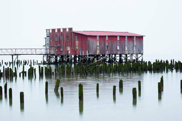 Astoria Photograph - Or, Astoria, Old Fish Cannery by Jamie and Judy Wild