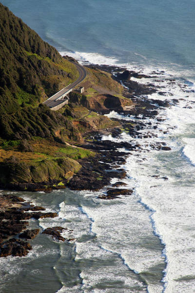 Cape Perpetua Wall Art - Photograph - Or, Cape Perpetua Scenic Area, View by Jamie and Judy Wild