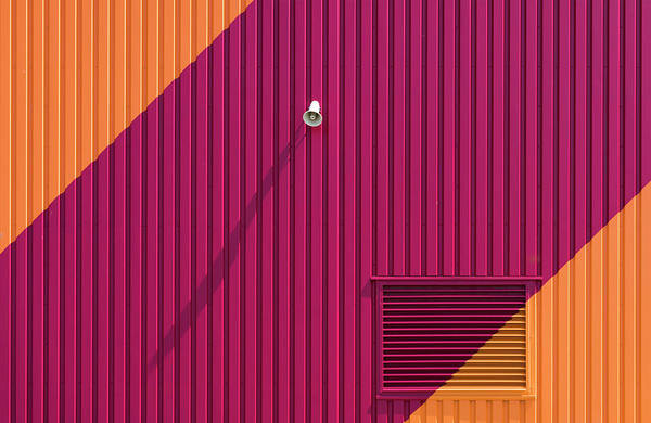 Wall Art - Photograph - Orange Corners by Greetje Van Son