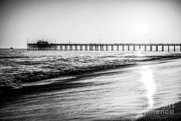 Balboa Photograph - Orange County California Picture Of Balboa Pier  by Paul Velgos