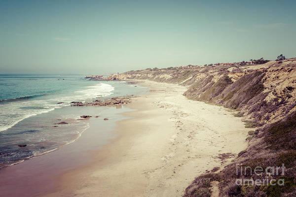 Crystal Coast Photograph - Orange County California Retro Photo by Paul Velgos