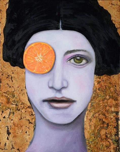 Painting - Orange Crush by Leah Saulnier The Painting Maniac