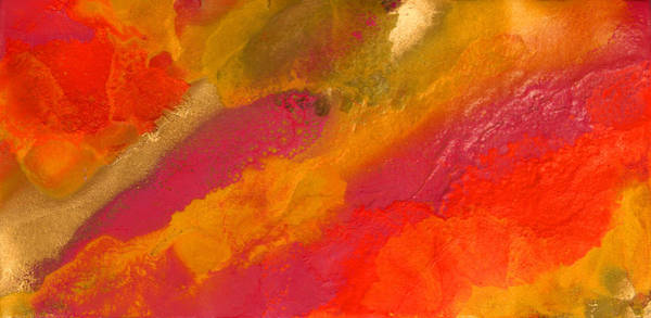 Orange Daydream Art Print